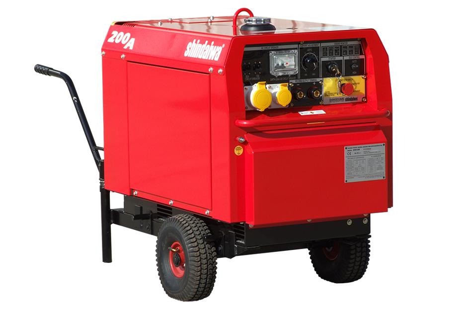 200/UK Welder-Generator