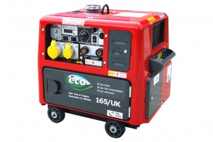 ECO 165/UK Welder-Generator