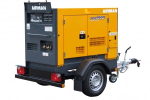 Airman PDS130S Portable Screw Compressor